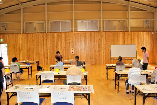 絵葉書教室