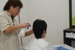 理容室(散髪) @ 社会福祉法人 光和苑 理美容室 | 苅田町 | 福岡県 | 日本
