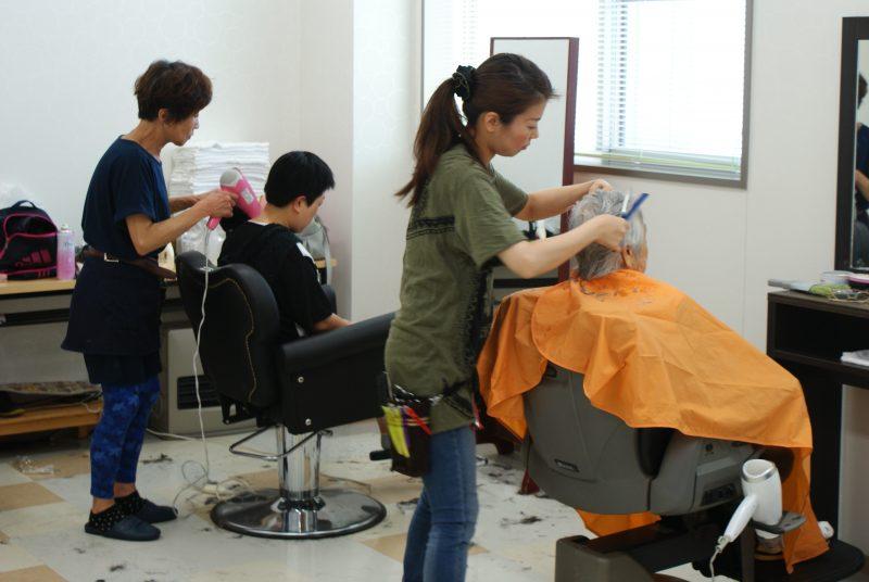 美容室 @ 社会福祉法人 光和苑 理美容室 | 苅田町 | 福岡県 | 日本